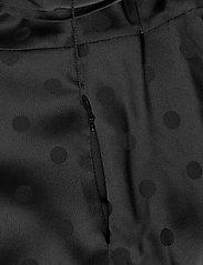 Tommy Hilfiger - POLKA DOT FIT&FLARE WRAP DRESS - wrap dresses - black - 4