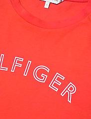 Tommy Hilfiger - REGULAR C-NK OUTLINE TEE SS - t-shirts - oxidized orange - 2