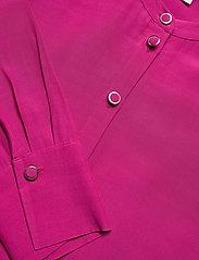 Tommy Hilfiger - VISCOSE CDC ABOVE KNEE DRESS LS - alledaagse jurken - fuchsia - 2