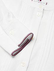Tommy Hilfiger - VIS PLEATED REGULAR BLOUSE LS - long sleeved blouses - ecru - 2