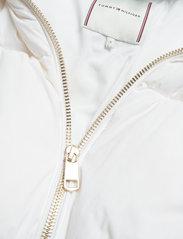 Tommy Hilfiger - NYLON DOWN PUFFER COAT - winter jackets - white - 2