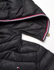 Tommy Hilfiger - TH ESS LW DOWN COAT - winter coats - black - 5