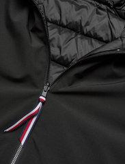 Tommy Hilfiger - TH ESS REVERSIBLE PADDED JACKET - winter jackets - black - 4