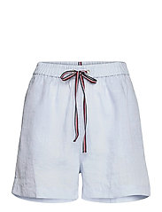 ABO LINEN SHORT - BREEZY BLUE
