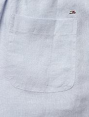 Tommy Hilfiger - ABO LINEN SHORT - shorts casual - breezy blue - 4