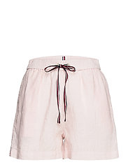 ABO LINEN SHORT - LIGHT PINK