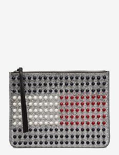 TOMMY ICON PEARL FLA - clutches - silver / multi