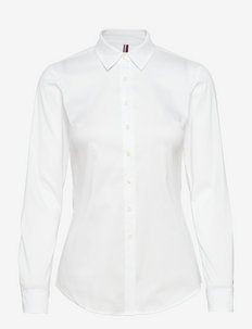 HERITAGE SLIM FIT SHIRT - long-sleeved shirts - classic white