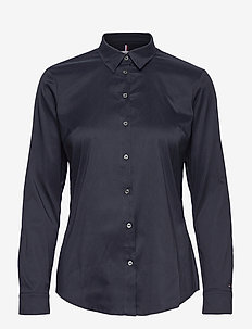 HERITAGE SLIM FIT SHIRT - long-sleeved shirts - midnight