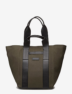 TH EDITION TOTE - shoppers - green / black