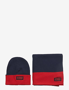 TJM LOGO SCARF & BEANIE - CORPORATE