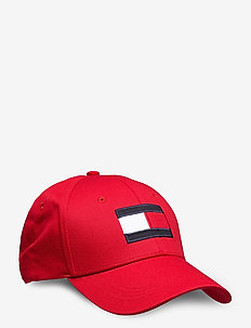 BIG FLAG CAP - kasketter - primary red