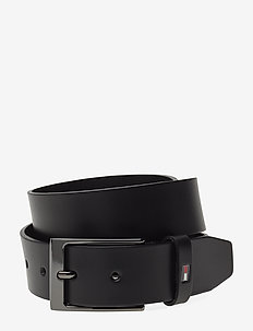 LAYTON LEATHER BELT - BLACK