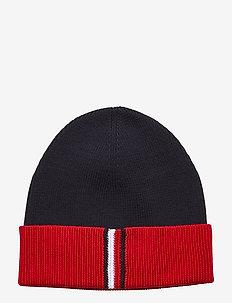 TH RIB BEANIE MIX - bonnet - corporate