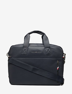 ESSENTIAL PIQUE COMPUTER BAG - SKY CAPTAIN