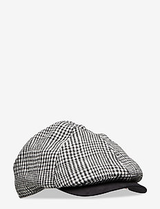 FLAT CAP POW - caps - prince of wales check