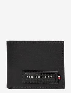 MODERN CC WALLET & KEY FOB - wallets - black