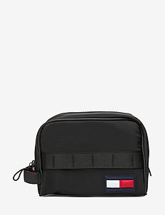 TOMMY WASHBAG - BLACK