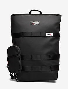 TJM CASUAL UTILITY BACKPACK - BLACK