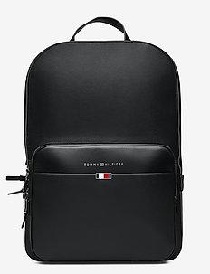 BUSINESS LEATHER BAC - rygsække - black
