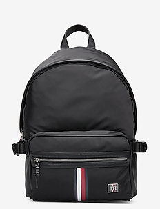 CLEAN NYLON BACKPACK - backpacks - black