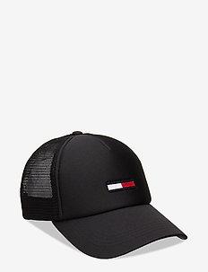 TJM TRUCKER CAP - BLACK
