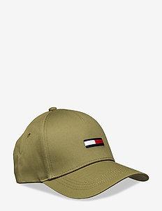 TJM FLAG CAP - kasketter - martini olive