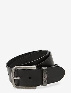 TJM METAL LOOP BELT - classic belts - black