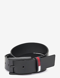 TJM FLAG INLAY BELT 3.5 - belts - black