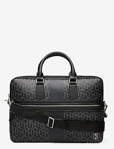 TH MODERN CC SLIM COMPUTER BAG - laptoptassen - black monogram