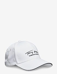 TH SIGNATURE CAP - kasketter - th optic white