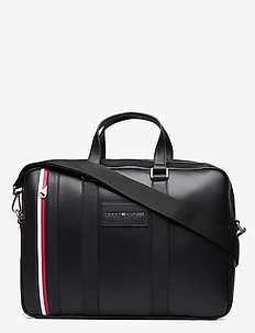 TH METROPOLITAN COMPUTER BAG - laptoptassen - black