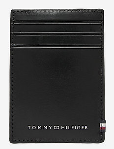 POLISHED LEATHER VERTICAL CC HOL - posiadacz karty - black