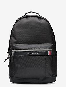 ELEVATED NYLON BACKP - plecaki - black