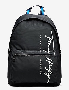 TH SIGNATURE BACKPACK - rygsække - black 660-910