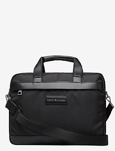 UPTOWN NYLON COMPUTER BAG - computertasker - black 660-910