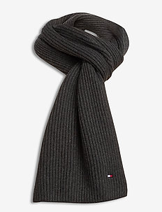 PIMA COTTON SCARF - scarves - charcoal gray