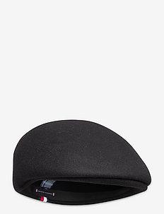UPTOWN FLAT CAP - flat caps - black