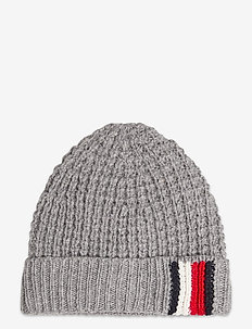 CORPORATE BEANIE - mutsen - mid grey melange
