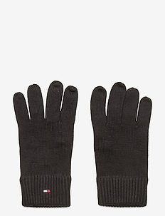 PIMA COTTON GLOVES - handskar - black