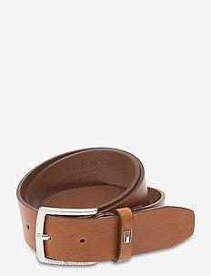 CASUAL LEATHER - belts - cognac
