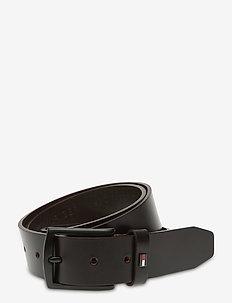 DENTON LEATHER 3.5 - belts - testa di moro