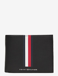 TH METRO CC FLAP AND COIN - wallets - black