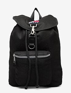 TJM HERITAGE FLAP BACKPACK - väskor - black