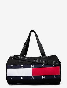 TJM HERITAGE DUFFLE - väskor - black