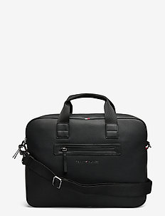 ESSENTIAL PU  COMPUTER BAG - laptop bags - black