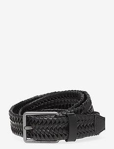 CASUAL ESSENTIAL BELT 3.5 - ceintures tressées - black