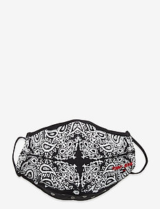 TJM BANDANA FACE COVER - ansiktsmasker - twilight navy