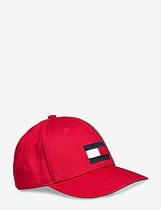 BIG FLAG CAP - BARBADOS CHERRY