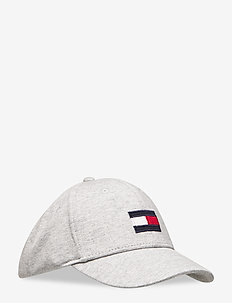 SMU KIDS MED FLAG CA - kasketter - light grey heather